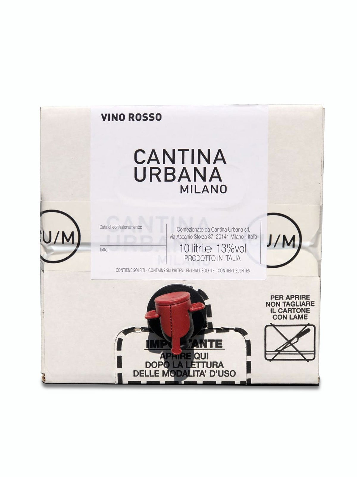 Vino Rosso Fresco (Box da 10lt)